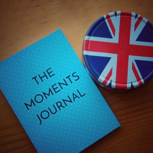 The Moments Journal is printed in the UK